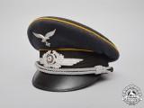A Luftwaffe Fliegertruppe Officer's Visor Cap