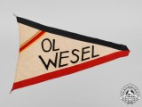 A Ortsgruppenleiter Wesel German Veteran's Association Flag/Wimpel