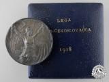 An 1918 Italo Czechoslovakia Campaign Medal