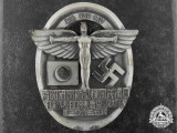 A Very Rare German-Japanese NSFK Badge in Silver with Case