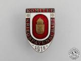 "Austria. A 1915 Austrian War ""Sponsorship"" Committe Badge"
