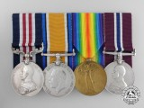 A First War Military Medal Group to the Canadian Garrison Artillery