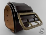 A Double Open Claw Belt with Buckle by Paulmann & Crone, Lüdenscheid