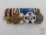 An NSDAP Long Service Medal Bar