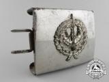 A Third Reich Period Civilian Band Member's Belt Buckle