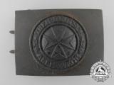 A Third Reich Period German Order (Jungdeutscher Orden) Belt Buckle