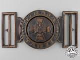A Second War Romanian Civil Officer's Buckle