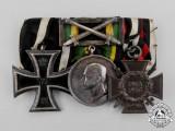 A First War Saxon General Wartime Service Medal Bar Grouping