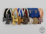 An Extensive First and Second War German Luftwaffe Long Service Medal Bar
