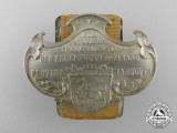 An Early 1900's Hannover Fireman's 25 Years Award