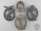 Four Second War German Badges