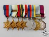 A Second War & Korean War Long Service Group to the Royal Air Force