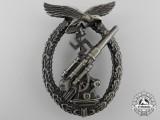 An Early Luftwaffe Flak Badge -