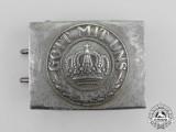 A Weimar Period Reichsheer (Army) EM/NCO's Standard Issue Belt Buckle