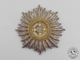 Greece. A German-Made Order of the Redeemer, Embroidered Grand Cross Breast Star, Type I (1829-1862)