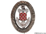 Naval Badge of Croatian Naval Legion 1942-43