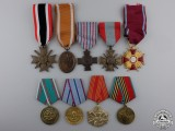 Nine European Awards & Medals