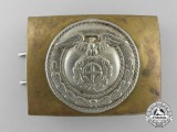 An Early SA (Sturmabteilungen) Belt Buckle; Published Example