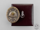 A 1940 Model LDO Cased Silver Grade Wound Badge by C.F. Zimmermann