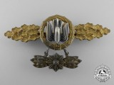 An Early Gold Grade Bomber Squadron Clasp with Hanger