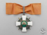 Hungary. An Order of the Holy Crown, Grand Officer's Badge with War Decoration and Swords 1942