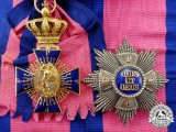 Bavaria. A Royal Merit Order of St. Michael Complete Grand Cross Set by the Hemmerle Bros.