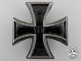 An Iron Cross First Class 1914; 925 Silver