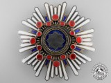 A Japanese Order of the Sacred Treasure; First Class Breast Star