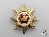 Baden. An 1896-1918 Order of Berthold the First Grand Cross Breast Star with Swords