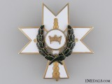 Order of King Zvonimir with Oakleaves; Second Class Cross