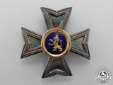 Hesse-Kasse. An Houseorder of the Golden Lion Breast Star to the Commander Cross