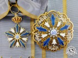 Egypt. An Desirable and Scarce Order of the Virtues, 1st Class Grand Cross