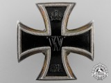 An Iron Cross First Class 1914; Vaulted Screwback