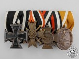 Germany. A First and Second War German Medal Bar