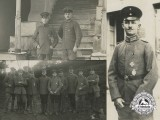 Three First War German Imperial Airmen Photographs