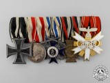 A Very Fine First and Second War Olympic Medal Bar
