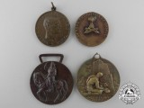 Four Italian Medals and Awards
