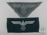 Two German Army/Heer Breast Eagles