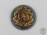 A Mint Bronze Grade Wehrmacht Heer (Army) Driver's Proficiency Badge