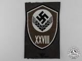 A Reich Labour Service (Reichsarbeitsdienst = RAD) District 28 Sleeve Insignia