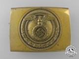An SA (Sturmabteilungen) Enlisted Man's Belt Buckle by Linden & Funke, Iserlohn