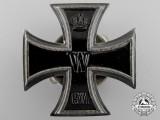 An Unusual Iron Cross First Class 1914; Screwback