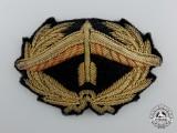 An Austrian First Republic Anti-Aircraft Artillery Officer's Cap Badge