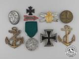 A Lot of Second War German Awards, Badges, & Insignia