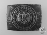A Kriegsmarine Enlisted Man's Belt Buckle by Noelle & Heuck 1942