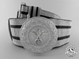 A 1942 Pattern Government Elevated and Middle Career Official's Brocade Dress Belt with Buckle