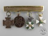 An Early Dutch Miniature Award Chain in Gold c.1845