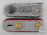 Two Second War German Army Officer's Shoulder Boards