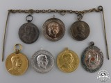 Seven Austrian Miniature Medals and Decorations