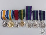 Seven British Miniature Medals & Awards